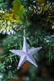 święta bożego fractal nocy obrazu gwiazda Fotografia Royalty Free