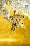 święta bożego fractal nocy obrazu gwiazda Zdjęcie Stock
