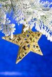 święta bożego fractal nocy obrazu gwiazda Obraz Stock