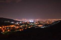 święta bożego miasta wróżki Łotwy nocy prowincjonału podobnej wkrótce bajka Fotografia Stock