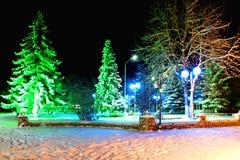 święta bożego miasta wróżki Łotwy nocy prowincjonału podobnej wkrótce bajka zdjęcie royalty free