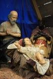 święta bożego narodzenia jezusa sceny ilustracyjny wektora Zdjęcia Stock
