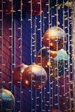 święta bożego pojęcia dekoracji kolorowe wakacje ornamentuje tradycyjnego sezonowego Zima wakacje i tradycyjni ornamenty Oświetle Zdjęcie Stock