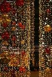 święta bożego pojęcia dekoracji kolorowe wakacje ornamentuje tradycyjnego sezonowego Zima wakacje i tradycyjni ornamenty Oświetle Obrazy Stock