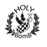 Święta bomba royalty ilustracja