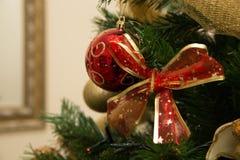 Święta ciągnąć czerwone Zdjęcia Royalty Free