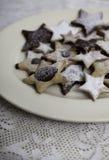 Święta ciasteczka domowej roboty Obraz Stock