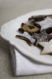 Święta ciasteczka odznaczony Zdjęcie Royalty Free