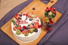 Święta ciasto Zdjęcia Royalty Free