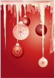 Święta czerwone tło ilustracja wektor