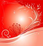 Święta czerwone tło Obrazy Royalty Free