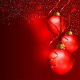 Święta czerwone tło Obraz Stock
