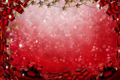 Święta czerwone tło royalty ilustracja