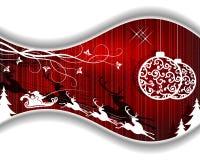 Święta czerwone tło Zdjęcia Royalty Free