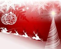 Święta czerwone tło Obrazy Stock