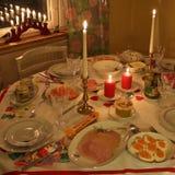 Święta dekorują obiadowych domowych świeżych pomysłów Obrazy Stock