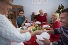 Święta dekorują obiadowych domowych świeżych pomysłów Obraz Royalty Free