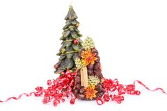 Święta dekorują odznaczenie domowych świeżych pomysłów Obraz Royalty Free