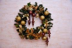 Święta dekorują odznaczenie domowych świeżych pomysłów obraz stock