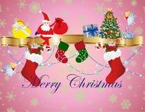 Święta dekorują odznaczenie domowych świeżych pomysłów ilustracja wektor