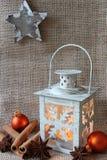 Święta dekorują odznaczenie domowych świeżych pomysłów Zdjęcia Royalty Free