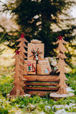 Święta dekorują odznaczenie domowych świeżych pomysłów Zdjęcie Stock