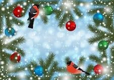 Święta dekorują odznaczenie domowych świeżych pomysłów ilustracji