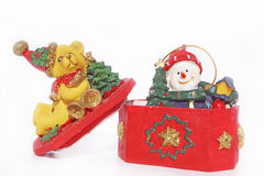 Święta dekorują odznaczenie domowych świeżych pomysłów Obrazy Stock