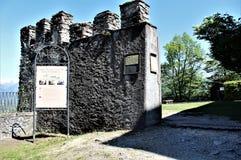 Święta góra Kalwaryjska Domodossola zdjęcia royalty free