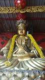 Święta guam statua w Chińskiej świątyni Obraz Royalty Free