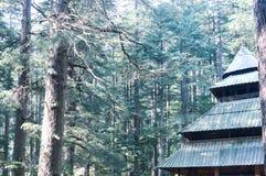 Święta Hidimda Devi świątynia w Shimla, Kullu, Himachal Pradesh, noerthern India, Azja zdjęcie stock