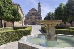 Święta kaplica Salwador, Ubeda, Hiszpania Fotografia Royalty Free