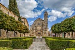 Święta kaplica wybawiciel, Ubeda, Hiszpania Fotografia Royalty Free