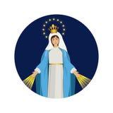 święta Maria dziewica ilustracji