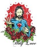 Święta miłość Zdjęcie Stock