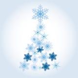 Święta miecielic wykonują ustanawia futerkowego snowfiake drzewa, Zdjęcie Royalty Free