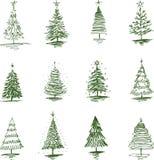 Święta moje portfolio drzewna wersja nosicieli Zdjęcie Royalty Free