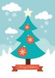 Święta moje portfolio drzewna wersja nosicieli ilustracji