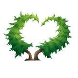 Święta moje portfolio drzewna wersja nosicieli royalty ilustracja