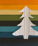 Święta moje portfolio drzewna wersja nosicieli Obraz Royalty Free