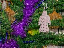 Święta moje portfolio drzewna wersja nosicieli Zdjęcia Royalty Free