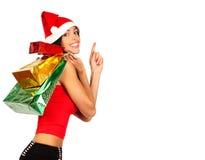 Święta na zakupy. zdjęcia royalty free