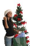 Święta na zakupy. Fotografia Royalty Free
