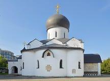 Święta ochrony katedra przy klasztorem święty Mary i Martha, Moskwa, Rosja Jesień dzień Obrazy Royalty Free