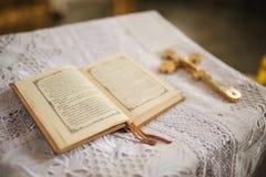 Święta ortodoksyjna książka Obraz Stock