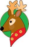 Święta reniferowi Obraz Royalty Free
