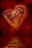 Święta serce ilustracji