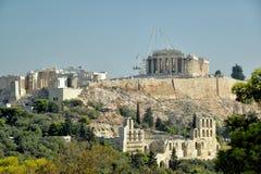 Święta skała akropol Zdjęcie Royalty Free