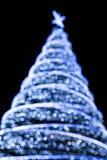 Święta skupiają się na drzewa Zdjęcia Royalty Free