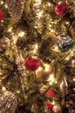 Święta tła balowych ostrego ornamentów białe drzewo Zdjęcie Royalty Free